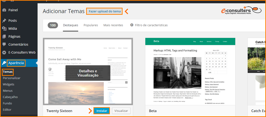 como-instalar-um-tema-no-wordpress